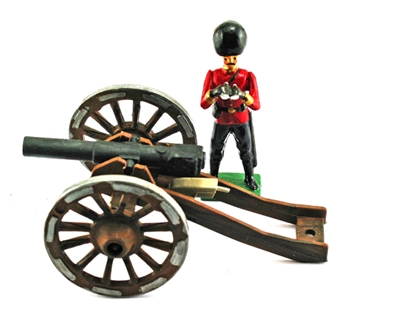 German Krupp Cannon - Late 19th Century
