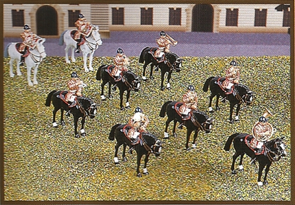 Mounted Band - Life Guards set #1