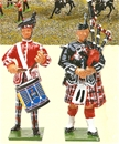 Pipes and Drums King's Own Scottish Borderers