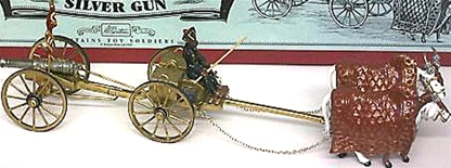 Gaekwar of Baroda's Silver Gun - 2 sets in stock!