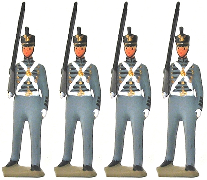 West Point Cadets in Winter Dress - Hollowcasts