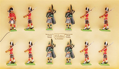 Seaforth Highlanders - Only 1 set in stock!