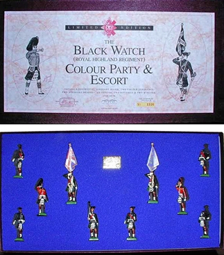 Black Watch Colour Party and Escort