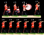 Scots Guards Drum and Bugle Set