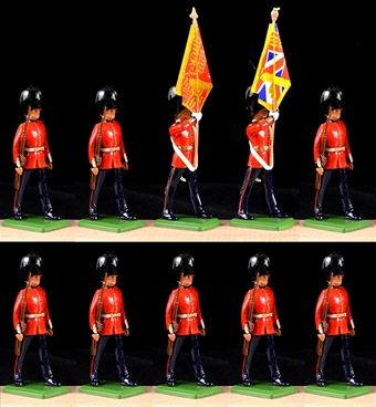 Scots Guards Color Party and Escort