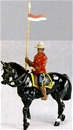 Royal Canadian Mounted Police on Horseback