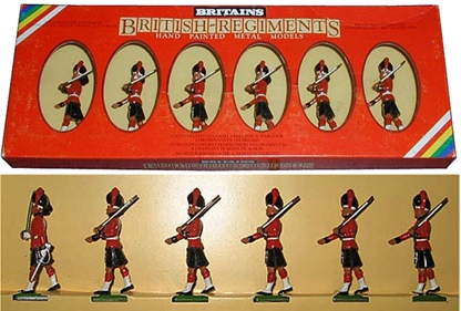 Black Watch Marching Private - 1 figure