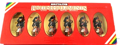Scots Guards Pipers - First version 1985