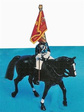 Horse Guards Standard Bearer Mounted