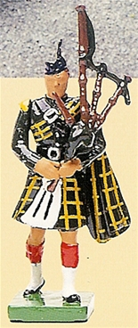 Gordon Highlanders Piper