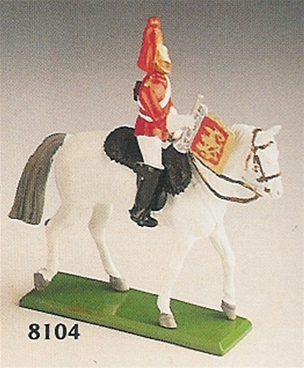 Lifeguard Trumpeter Mounted