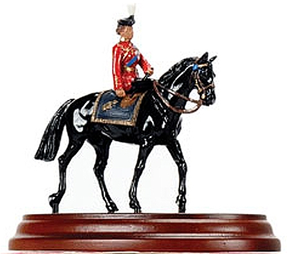 H.M. Queen Elizabeth Mounted