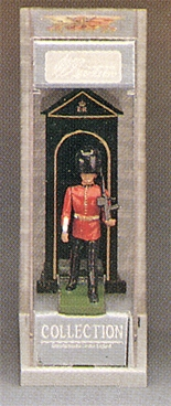 Scots Guard on Guard with Sentry Box