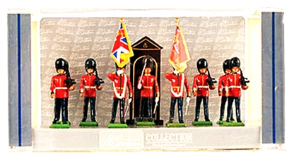 Scots Guards Color Party & Escort w/ Sentry Box
