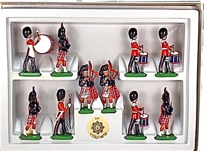 Scots Guards 10 Piece Band Set - only 1 left