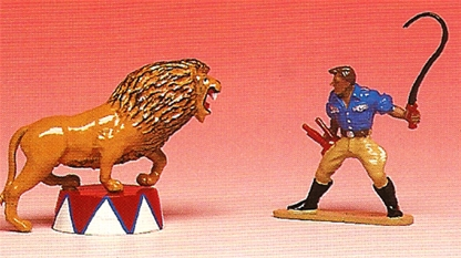 Circus Range - Lion Tamer and Lion