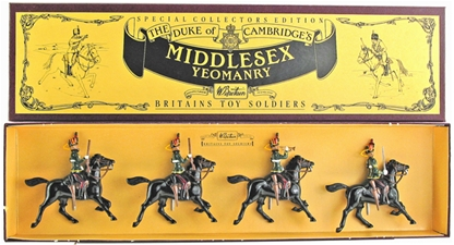Middlesex Yeomanry - only 1 in stock!