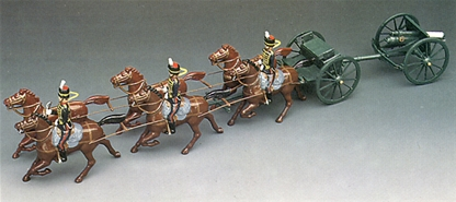Gun and Limber - King's Troop R.H.A.