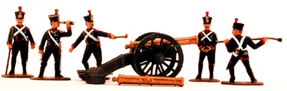 French Line Foot Artillery 1815 - Fully Painted