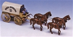 Union 4-horse Service Wagon and Crew