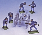 Union Gun and Crew in Action - 1 set in stock!