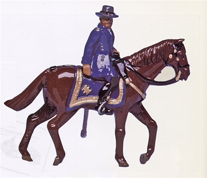 Mounted General U.S. Grant - 1 set in stock!
