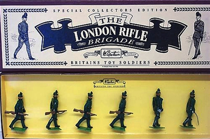 The London Rifle Brigade - only 1 remains