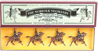 Norfolk Yeomanry - only 1 set in stock