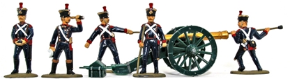 French Line Foot Artillery 1815 - Basic Painted