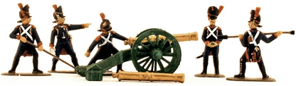 French Old Guard Foot Artillery 1815 - Fully Paint
