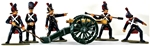 French Old Guard Foot Artillery 1815 - Basic Paint