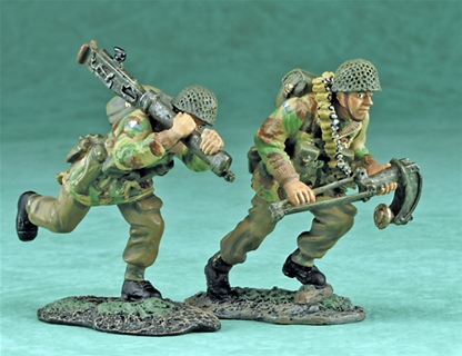 British Paratroopers - Heavy Weapons Set