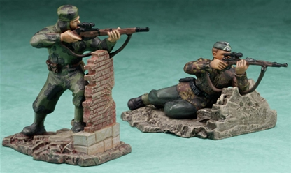 Stalingrad Russian vs. German Sniper Set