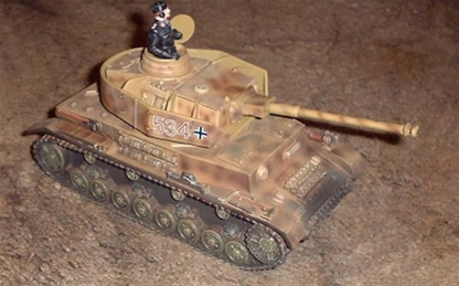 German Panzer IV Tank #534