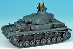 Panzerkampfwagon IV Tank #11 with Figure