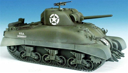 WWII M1A1 U S  Sherman Tank - #3098507