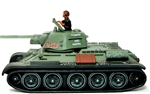 Russian T-34 Tank Short Barrel - No. C172