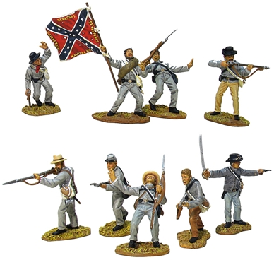 Imperishable Glory - Confederate Infantry Set