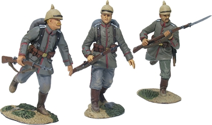 WW I German 84th Regt - Advancing Set #1
