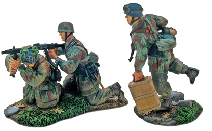 German 3rd Para Div - Heavy Weapons Set #1