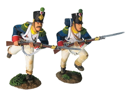 French Line Inf Chasseurs - Assault #2 - near-mint
