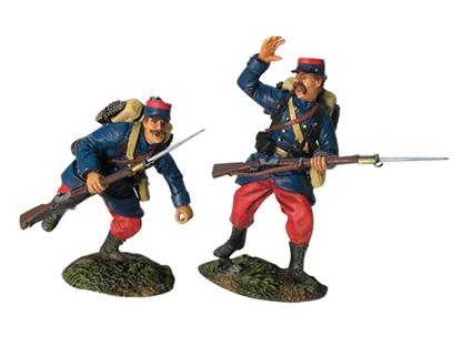 WWI French Infantry Charging Set #2
