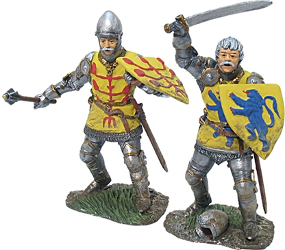 Jacques Lord of Crequy and John Count of Roucy