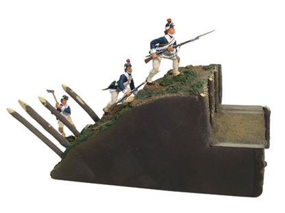 Yorktown Redoubt #10 -- American Assault Set #1