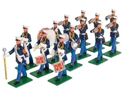U.S.M.C. 8th and I Drum and Bugle Corps 1955
