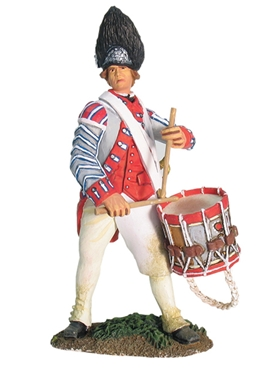 British 17th Regiment of Foot Drummer