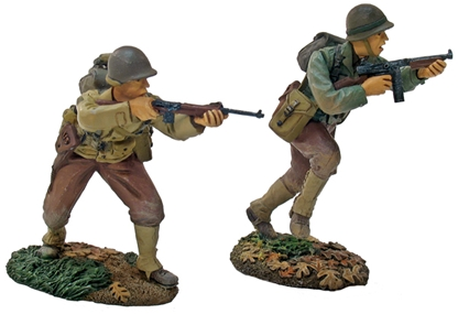 US 30th Infantry Division Officer and NCO Set #1