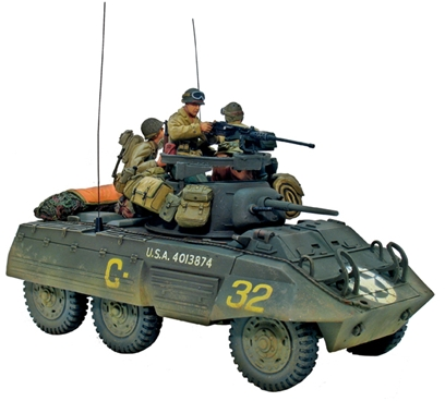 M8 Greyhound Light Armored Scout Car #1