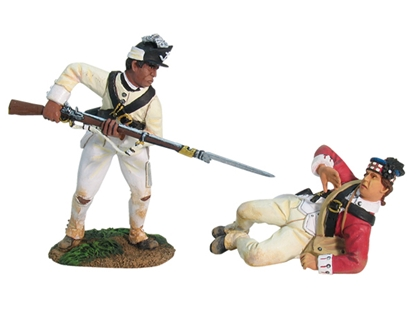 71st Highlander vs Rhode Island Light Infantryman