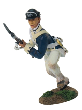 American Light Infantryman Charging